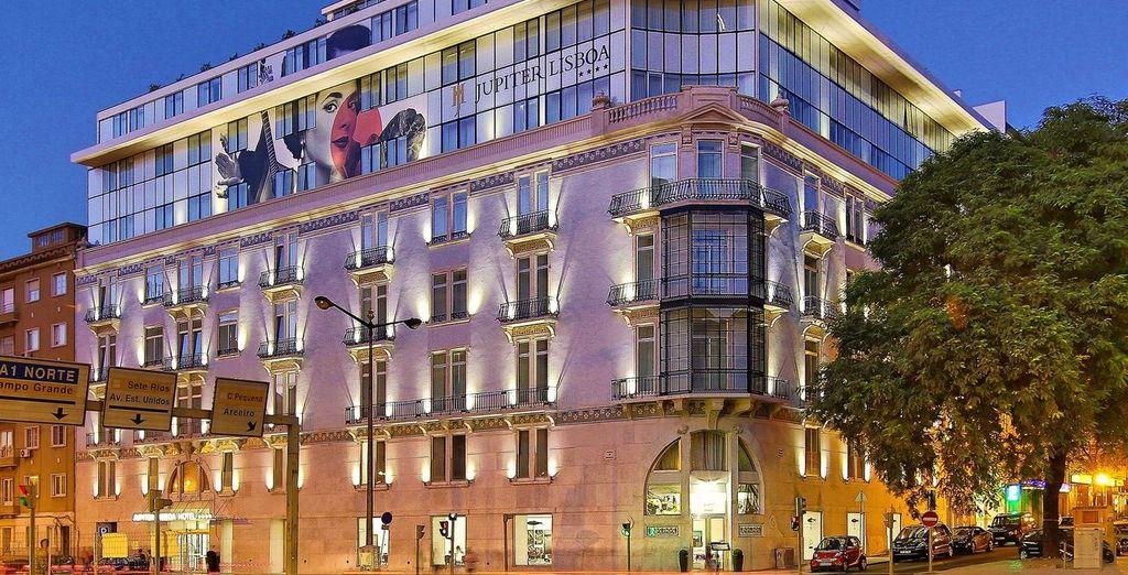 Il Jupiter Lisboa Hotel è pronto ad accogliervi