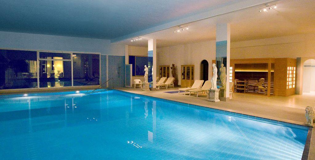 Rilassatevi negli ambienti esclusivi della spa