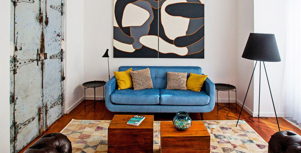 Benvenuti a Lisbona, in un elegante hotel di design