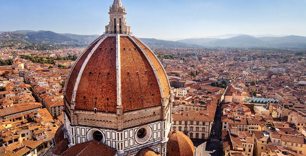 Visitate le vicine città d'arte come Firenze, splendida città culturale.