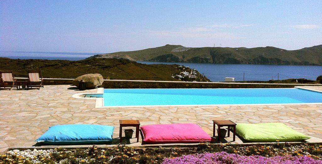 Benvenuti nella splendida isola di Mykonos!