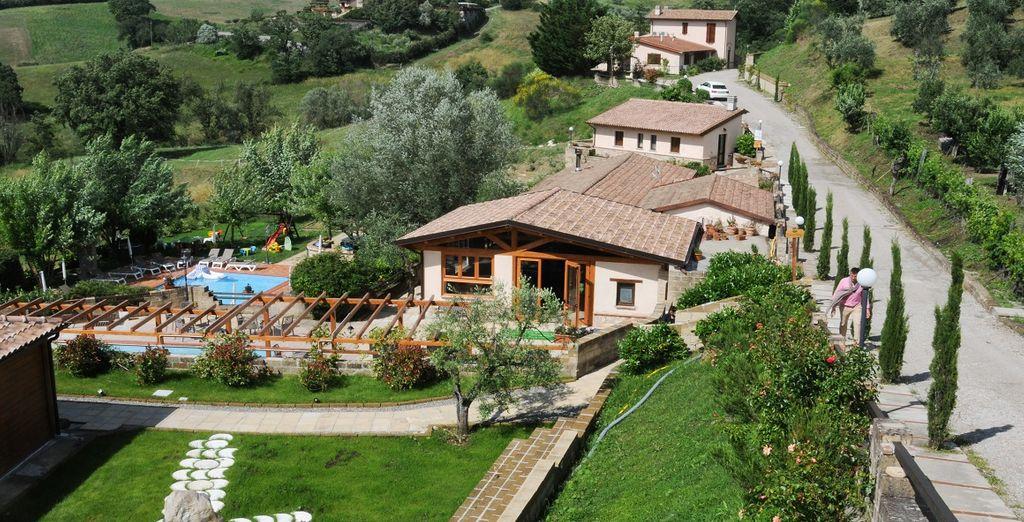 Vi accoglie l'Umbria Resort Spa, un'oasi di pace
