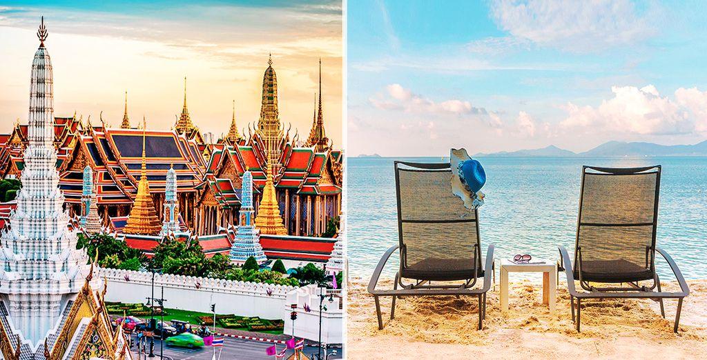 Vivrete un viaggio incredibile da Bangkok alle spiagge di Koh Samui