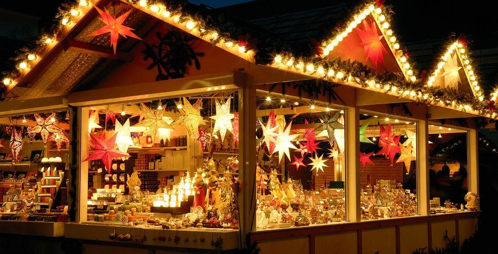 immersi nella magia delle luci e dei mercatini di Natale che vi faranno sognare ad occhi aperti!