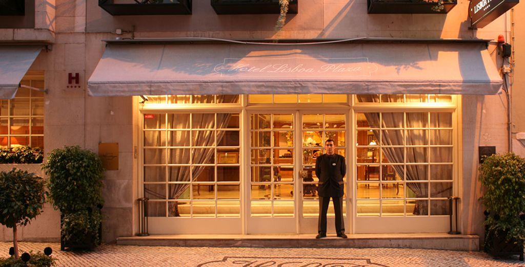 L'Hotel Heritage Lisboa Plaza 4* è pronto ad accogliervi