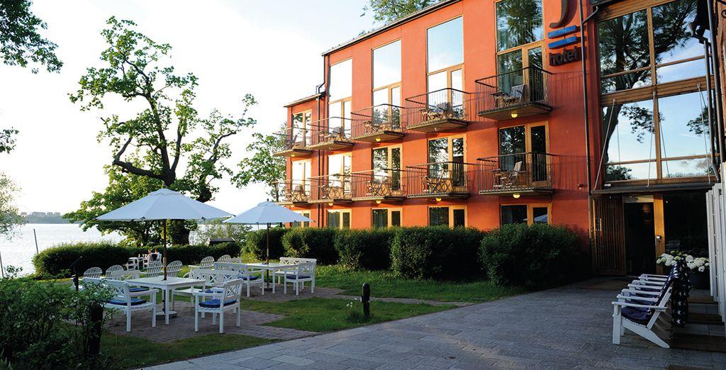 Moderno e accogliente hotel 4* a Stoccolma
