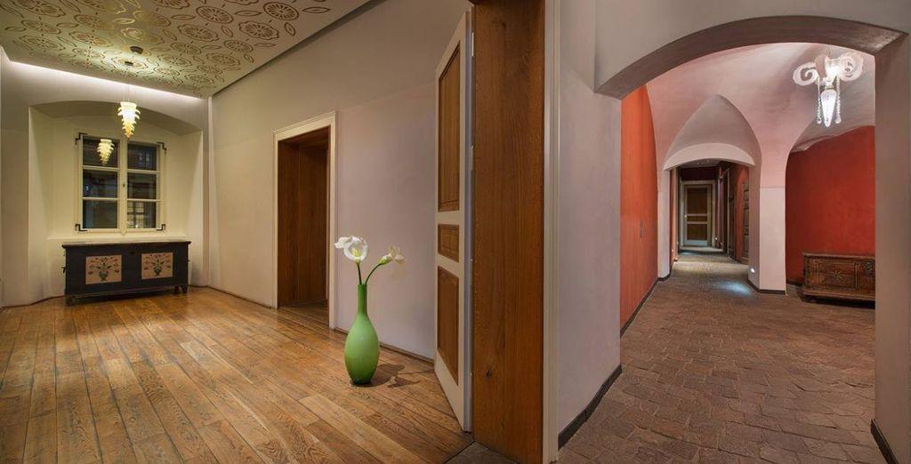 grazie agli interni moderni e di design
