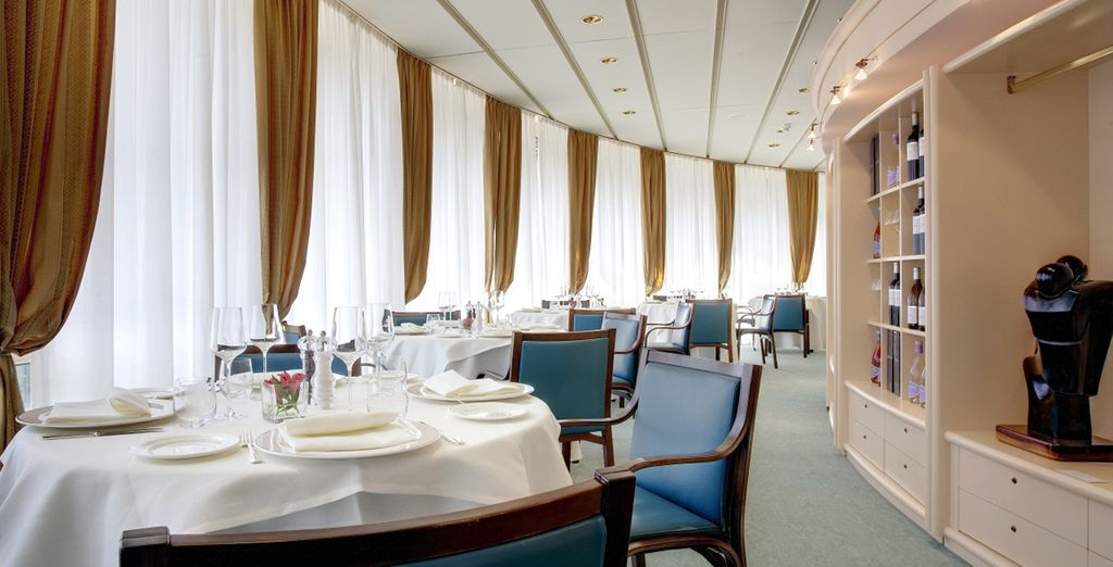 Gustate le specialità del ristorante del Grand Hotel Presolana