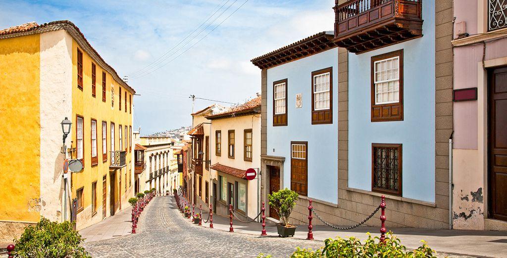 o Villa de la Orotava, con numerose testimonianze di carattere artistico e storico
