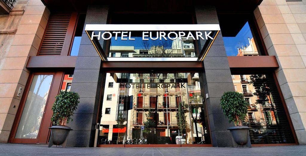 Un moderno boutique hotel in ottima posizione