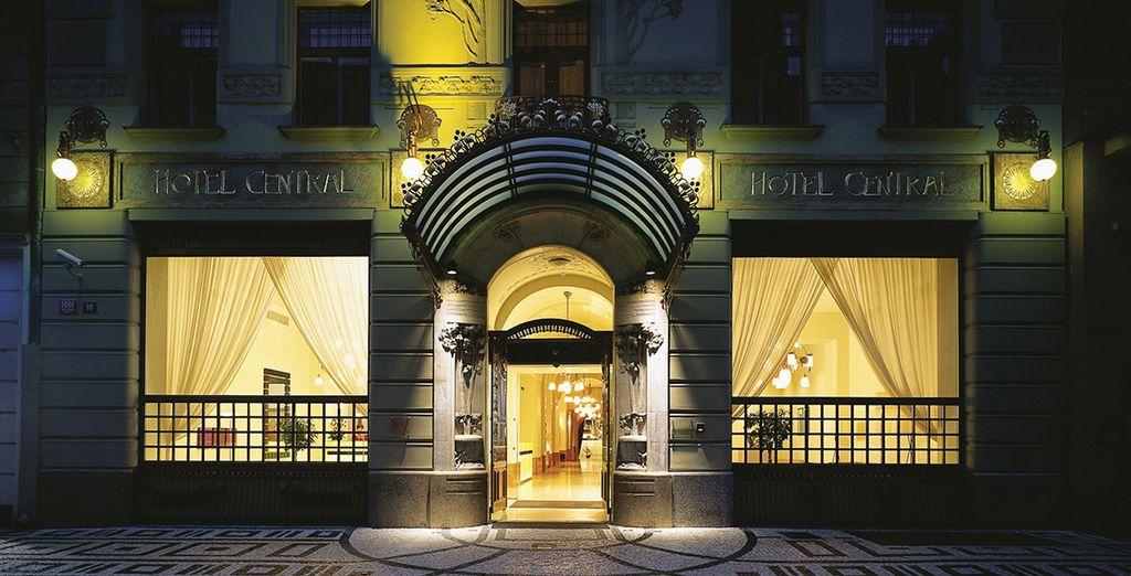 Un raffinato hotel 4* dall'eccezionale design è pronto ad accogliervi