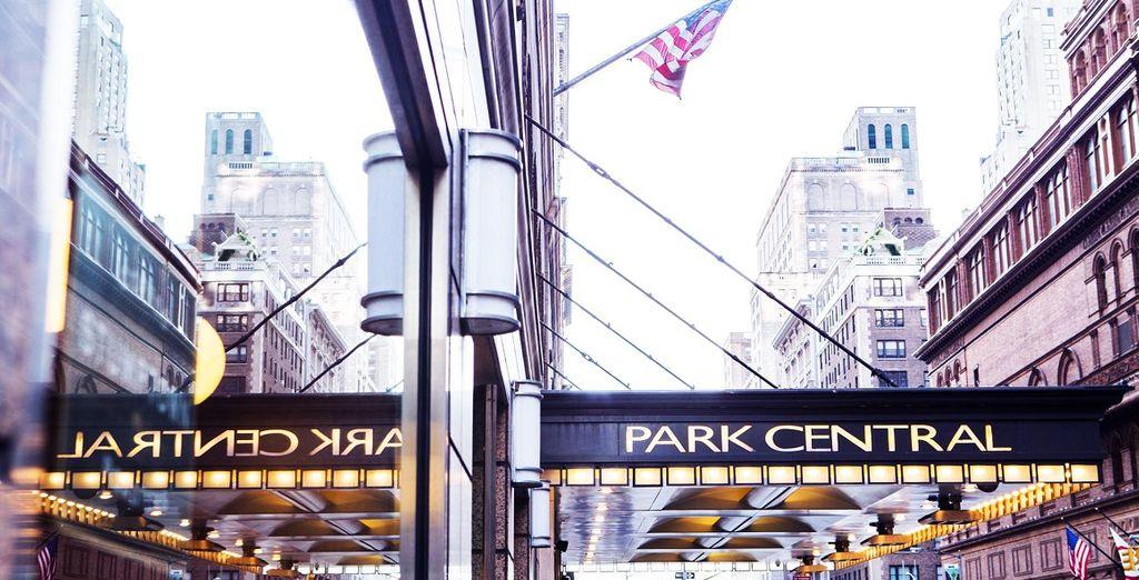 Il Park Central Hotel 4* vi attende