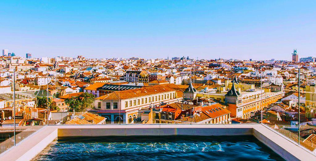 Benvenuti nel vostro panoramico hotel a Madrid