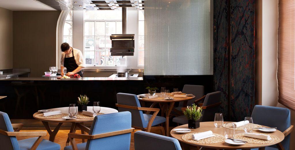 Assaporate i piatti della famosa cucina dello chef John Christie