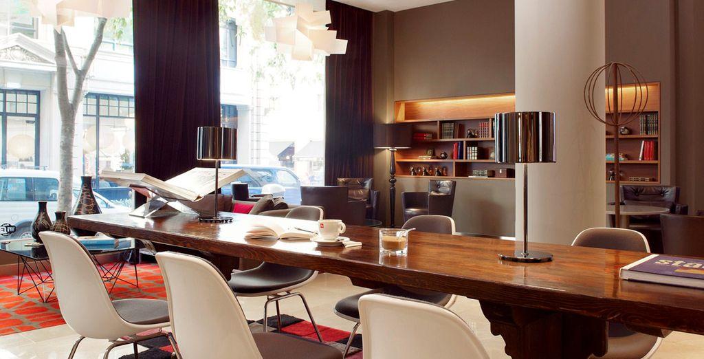 Il luogo ideale per un incontro con amici o un soggiorno di coppia