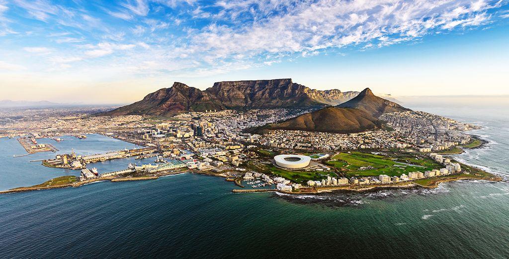 Fino ad arrivare a Cape Town