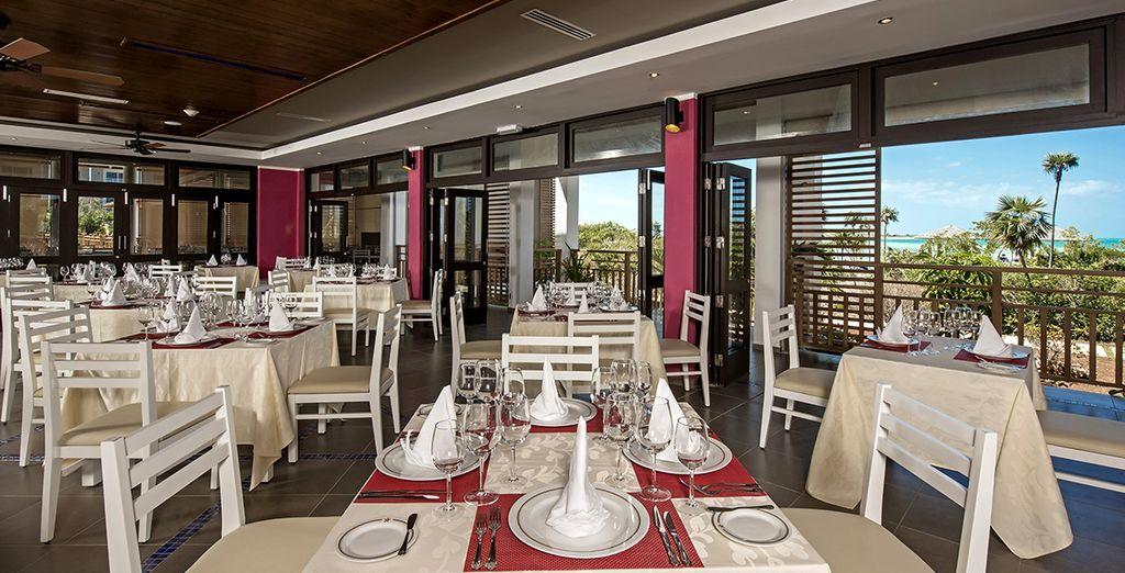 Sono 5 i ristoranti a vostra disposizione per soddisfare anche il palato più esigente