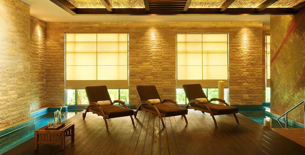 Tra sauna, bagni termali e 28 sale per trattamenti di benessere