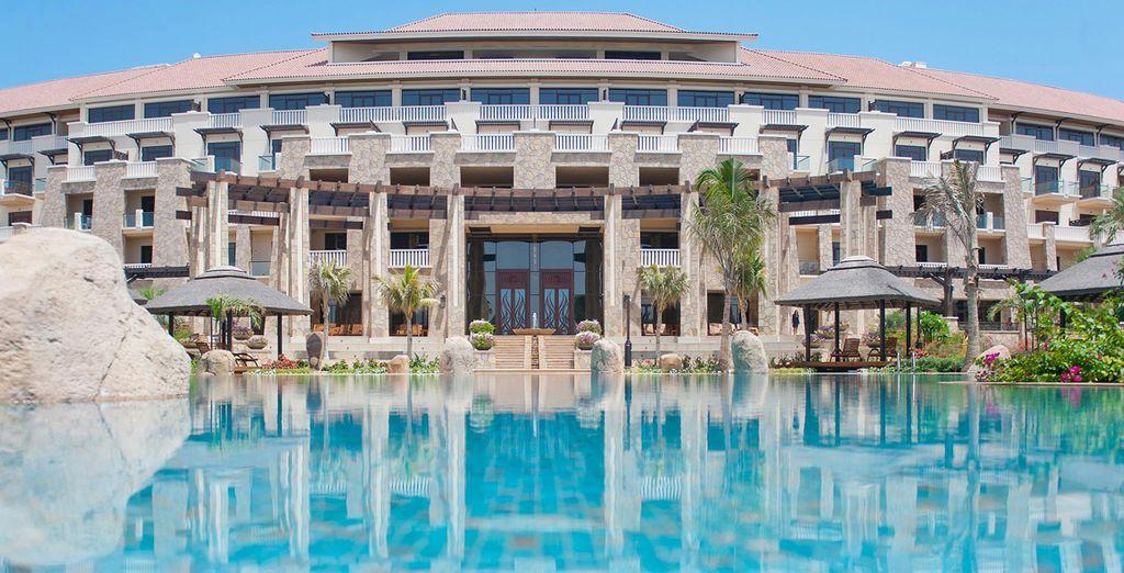 Un lussuoso ed esclusivo resort a 5*