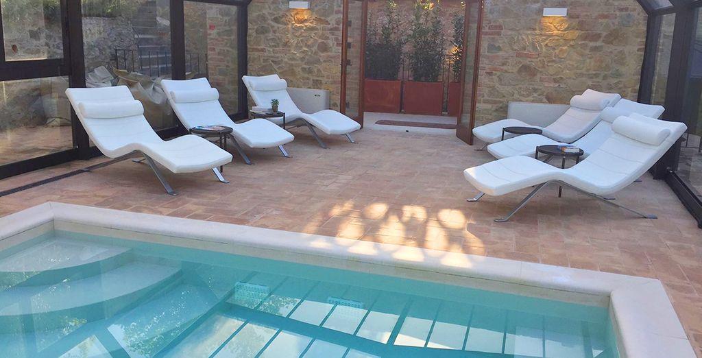 Rilassatevi grazie all'accesso nella bellissima spa
