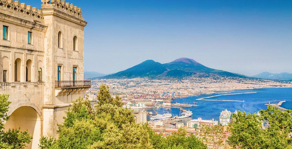 Benvenuti nella bellissima città di Napoli