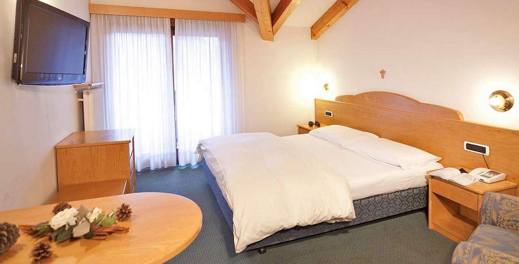 Rilassatevi nelle accoglienti camere Traditional