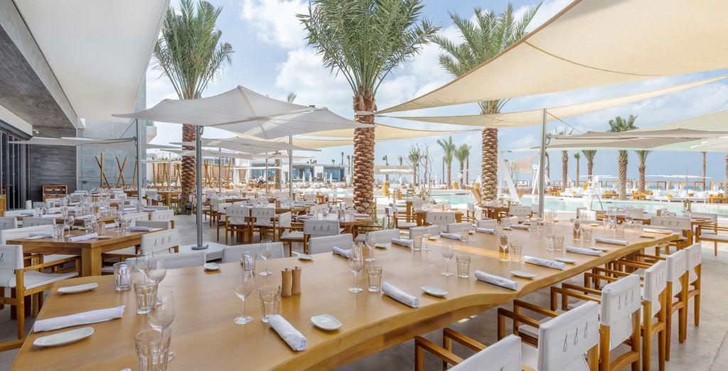 Vivrete un'esperienza culinaria unica in questo moderno resort