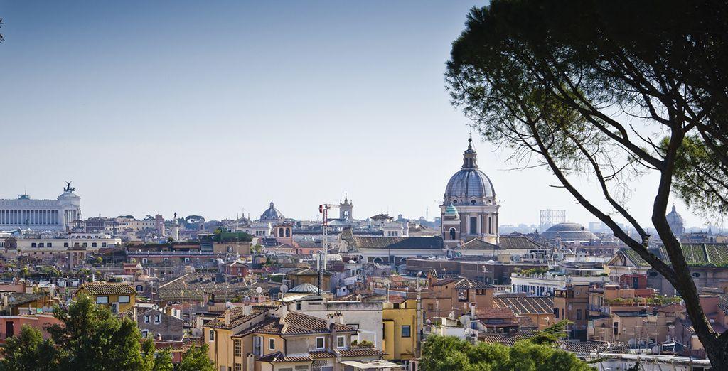 Roma vi attende in tutta la sua magnificenza
