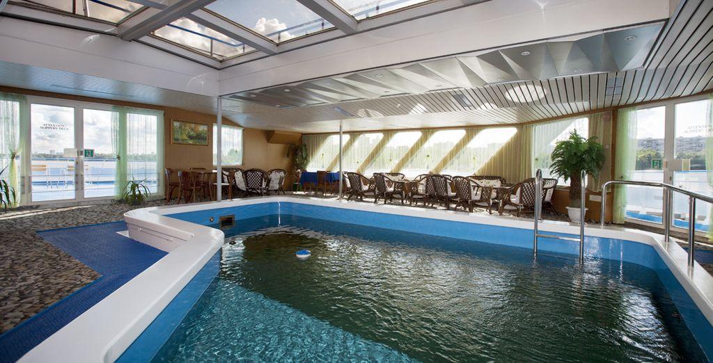 e una piscina perfetta per il relax