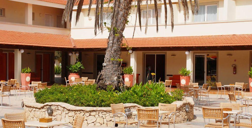 Rilassatevi nei grandi spazi accoglienti del Resort