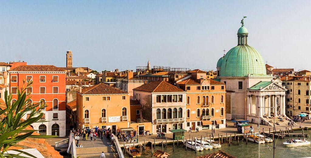 Ammirate lo splendido panorama di Venezia