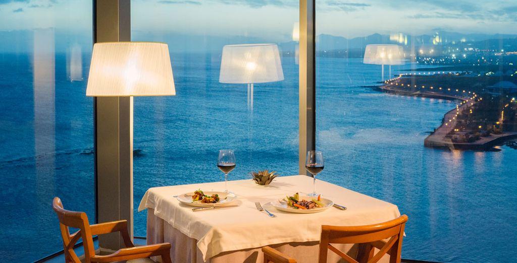 magari con una romantica cena di coppia