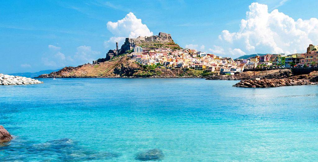 Preparatevi a partire per il borgo di Castelsardo ed il suo meraviglioso mare