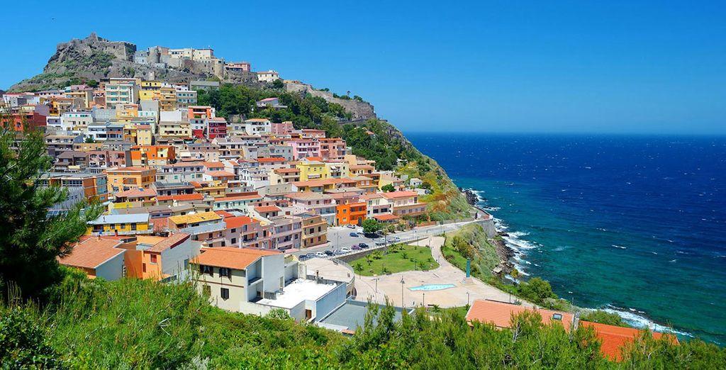 ed emozionatevi davanti allo splendido panorama che solo la Sardegna è in grado di offrirvi