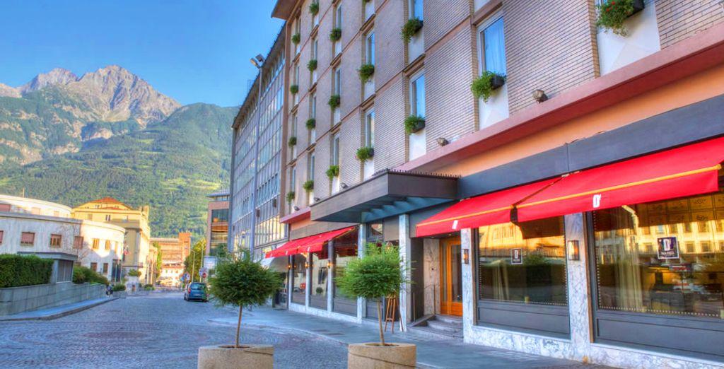 L'Hotel Duca D'Aosta vi apre le sue porte