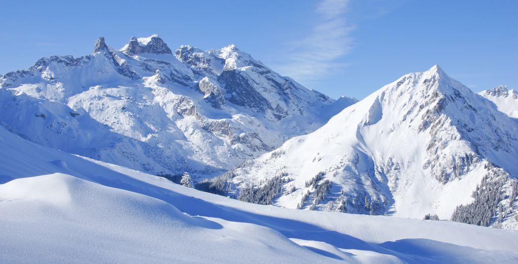 Scoprite con noi la bellezza delle Alpi.
