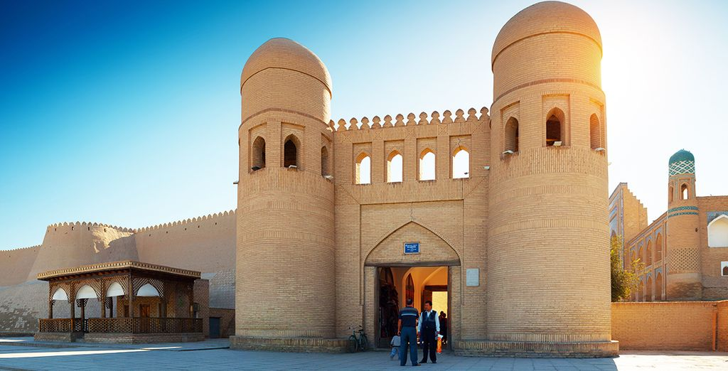 Proseguirete verso Khiva,