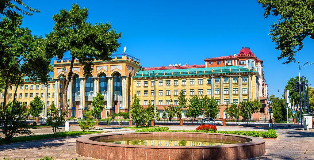 Prima tappa la splendida Tashkent, capitale dell'Uzbeksitan