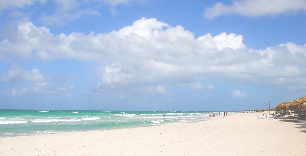 Trascorrete le vostre giornate in spiaggia