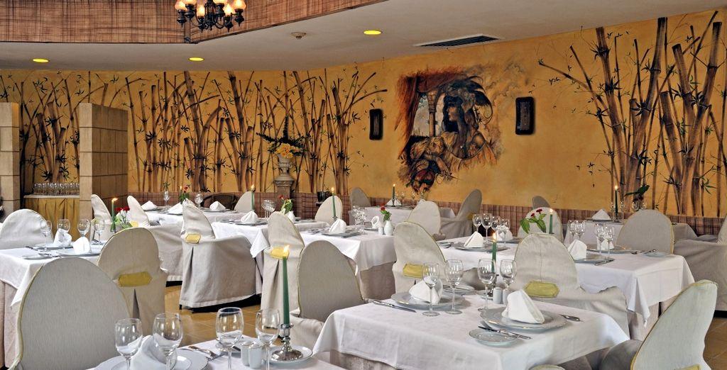 Concedetevi un pasto generoso al ristorante El Romántico