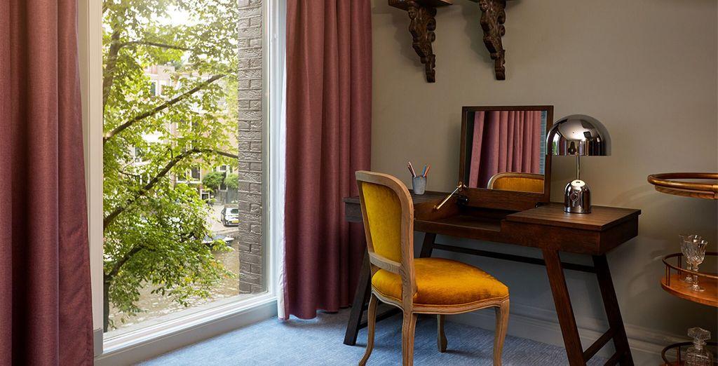 Spaziose, luminose e dal tipico stile olandese