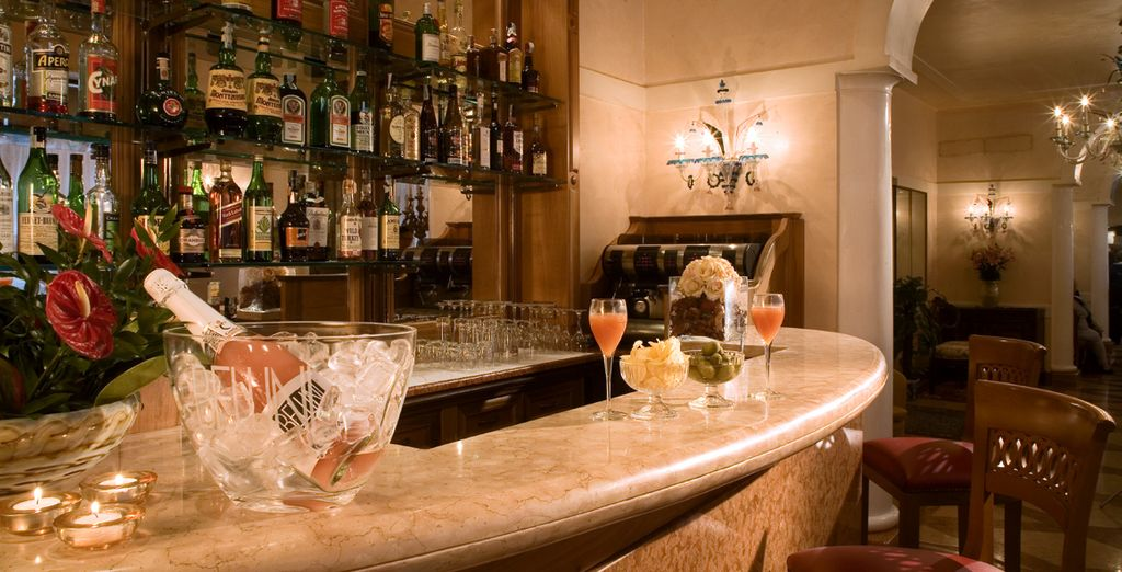 Il bar sarà sempre a vostra disposizione per un cocktail rinfrescante