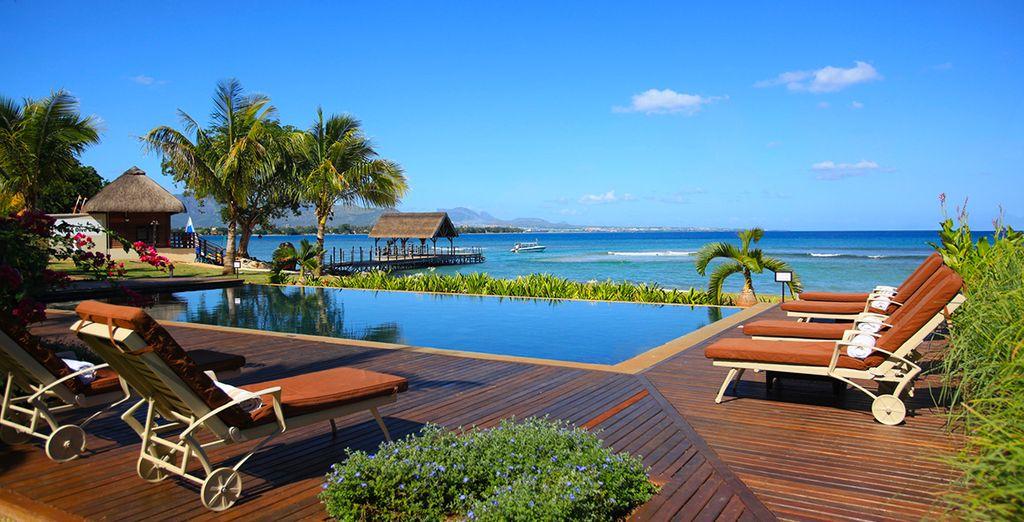 Partirete poi per la splendida località di Mauritius