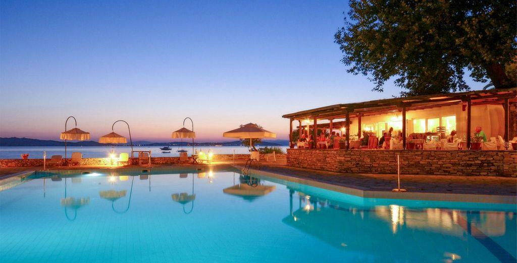 e la sera saporite cene con i migliori prodotti del mediterraneo
