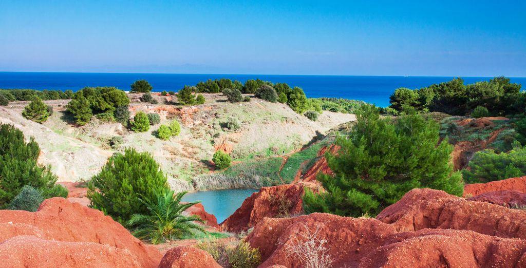 Attraversate i paesaggi sulla costa di Otranto