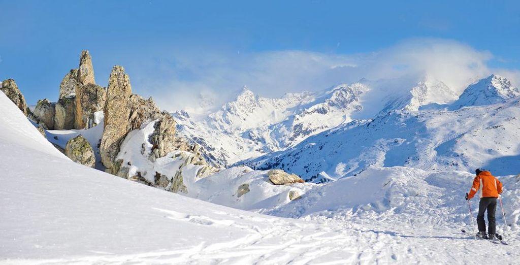 Durante l'inverno, visitate il famosissimo comprensorio sciistico del Monte Baranci