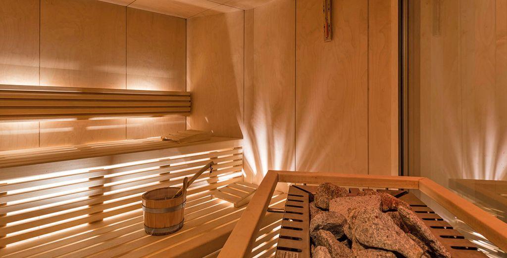con sauna e bagno turco