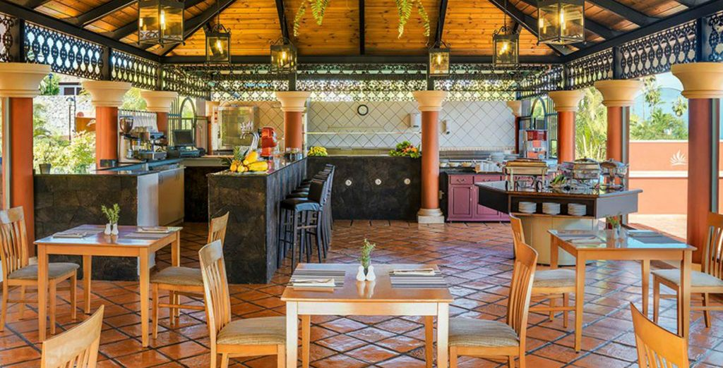 proposte dal ristorante e dai bar a vostra disposizione