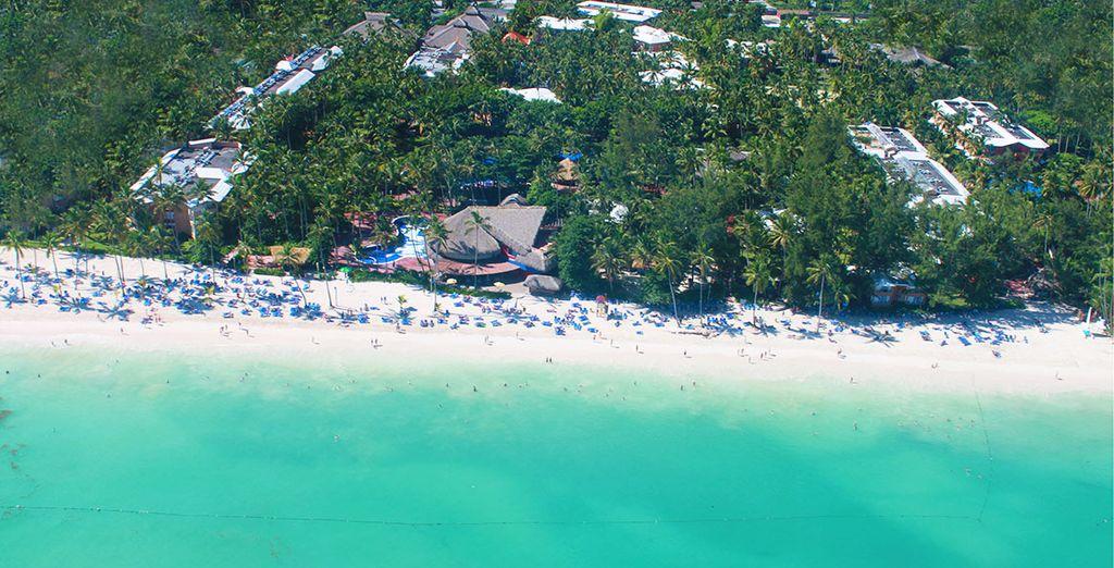 Il Sunscape Punta Cana Dominican Beach vi dà il benvenuto sulla splendida spiaggia di El Cortecito