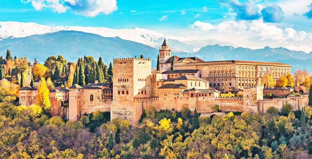Partite per Granada, a pochi minuti dal centro troverete il Granada Barcelo Congress 5*